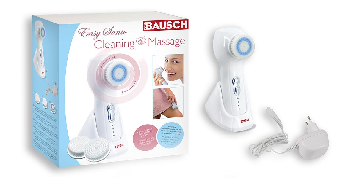Easy Sonic massage- en reinigingsapparaat
