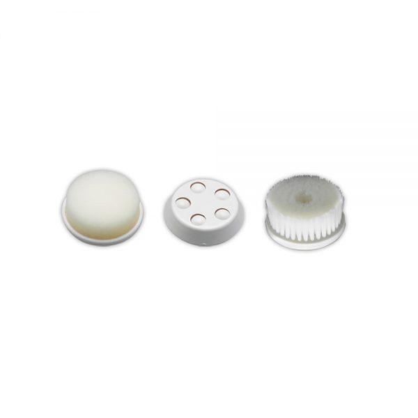 Opzetstukken voor gezichtsmassage en reinigingsapparaat